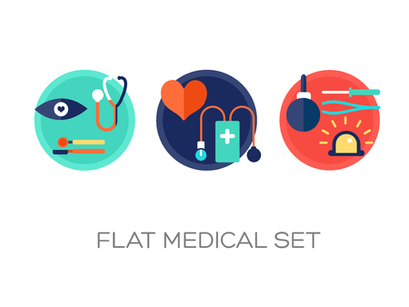 Colorful Healthcare Set