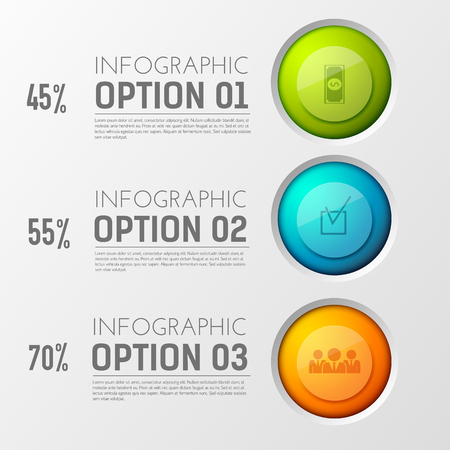 Interactive Buttons Percentage Background