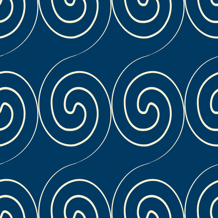 Squiggles Seamless Pattern