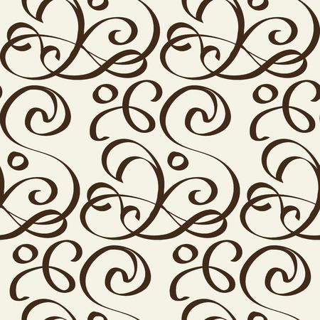 Modello in bianco e nero senza cuciture astratto stile indisciplinato Vettoriali
