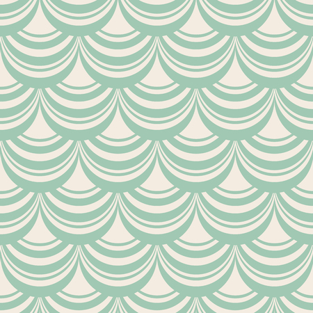 Light blue stylish abstract seamless repetition pattern with composition of decorative weaves as window shade vector illustration.