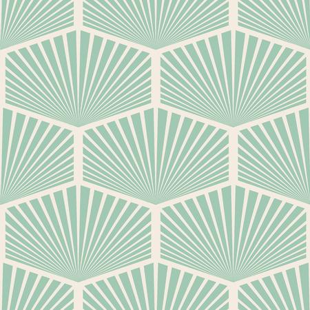 Illustrazione senza cuciture astratta d'annata bianca e blu di progettazione piana del fondo del modello Archivio Fotografico - 96335012