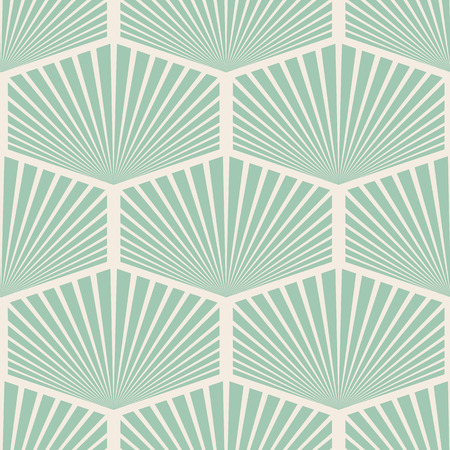 Flat design white and blue vintage abstract seamless pattern background vector illustration