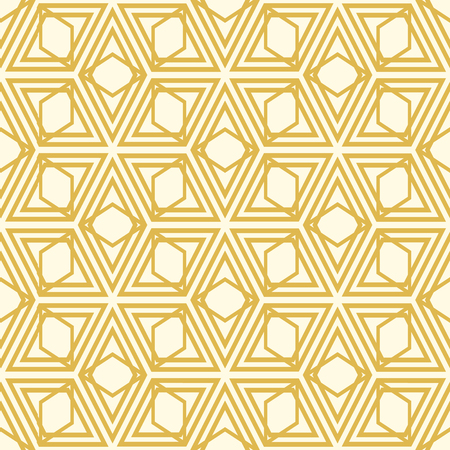 Abstract seamless pattern in kaleidoscope style with symmetrical elements. Illustration