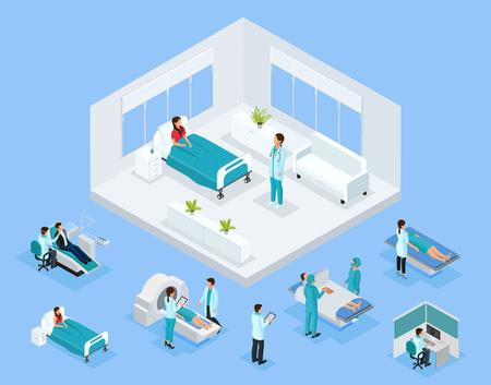 Isometric healthcare concept