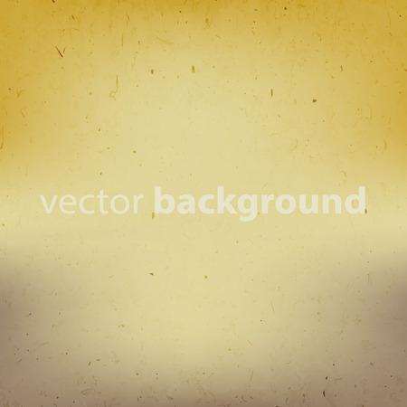 グラデーション効果とテキストフィールドベクトルイラストを使用した古い紙のテクスチャの背景  イラスト・ベクター素材