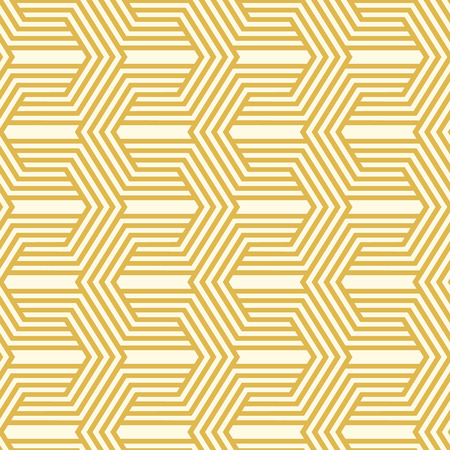 Light minimalistic seamless pattern with linear texture of repeating structure in vintage style vector illustration