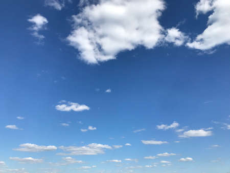 Beautiful lue sky and clouds Stock Photo