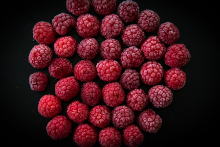 berryes: frozen raspberry