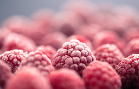 alimentos congelados: frambuesa congelada