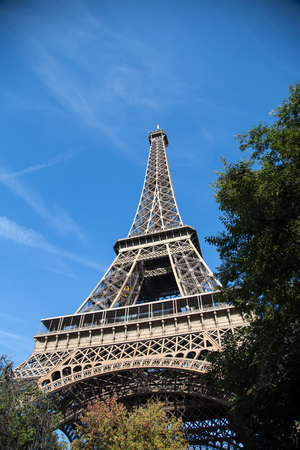 Eiffel Tower, symbol of Paris, France. Paris Best Destinations in Europe/