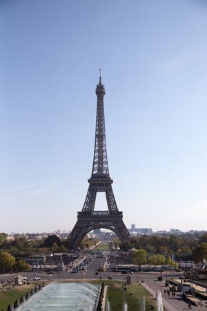 Eiffelturm, Wahrzeichen von Paris, Frankreich. Paris Beste Reiseziele in Europa/ Editorial