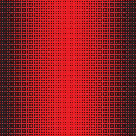 Halftone Dots. Black dots on rad Background. Halftone Texture. Halftone Dots. Halftone Effect. Vector. Background halftone. Comic book background