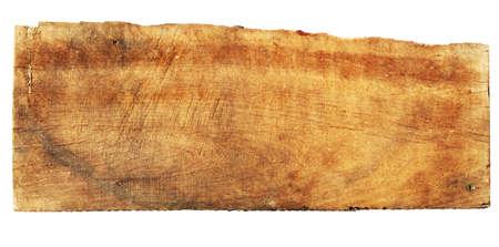 caoba: Signo de caoba Vintage aislado en blanco