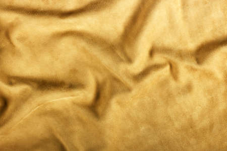 Texture of brown leather photo