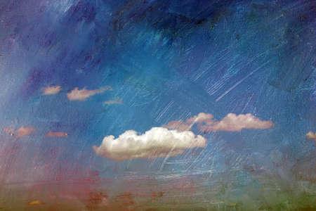 hintergrund himmel: Abstrakter Hintergrund - Himmel und Wolken