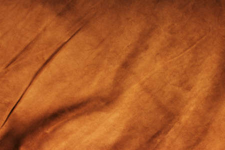 chamois leather: Texture of colored crumpled leather