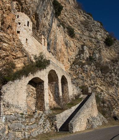 recluse: Eremo di San Cataldo Cottanello in province of Rieti