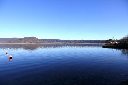 lazio: Lake Vico nel Lazio, Italy