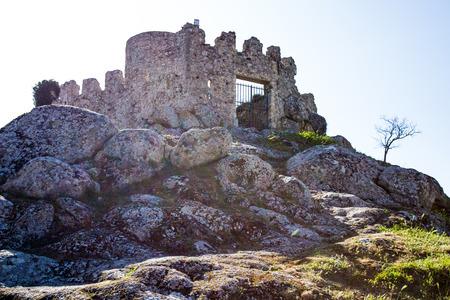 Ruins of the Rocca dei Frangipane in Tolfa