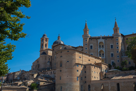 duke: Front View of the Ducal Palace in Urbino