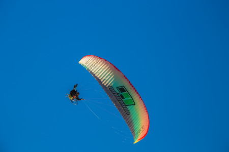 pilot light: Paramotor flying during a performance Editorial