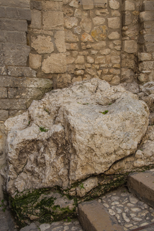 Ancient rock rich in historical significance in Vieste