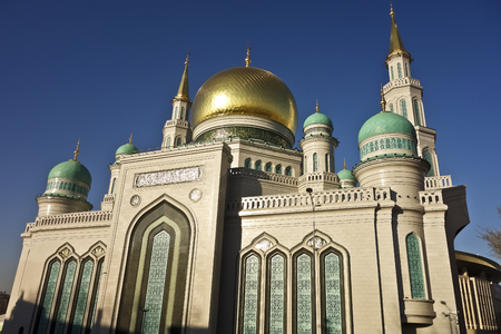 Moscow Cathedral Mosque - the main mosque in Moscow, one of the largest and highest mosque in Russia and in Europe.