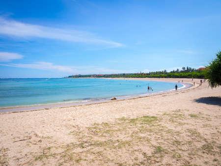 bali beach: Beautiful Nusa Dua Bali Beach