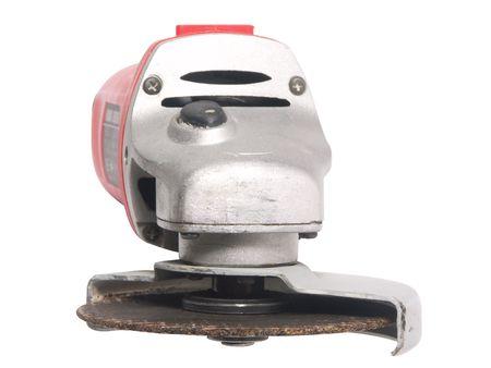 maschine: hand-held grinding tool Stock Photo