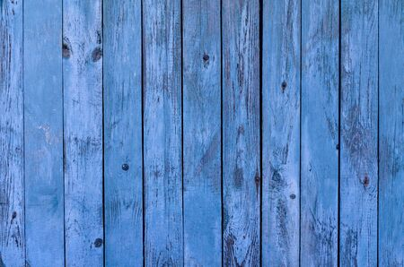 the blue rustic board wooden background texture