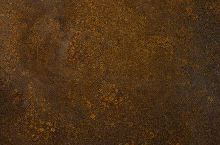 texture corrodée en métal. Ancienne publicité sur la rouille