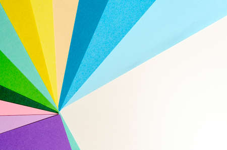 Abstract pastel colored paper texture minimalism background. 免版税图像
