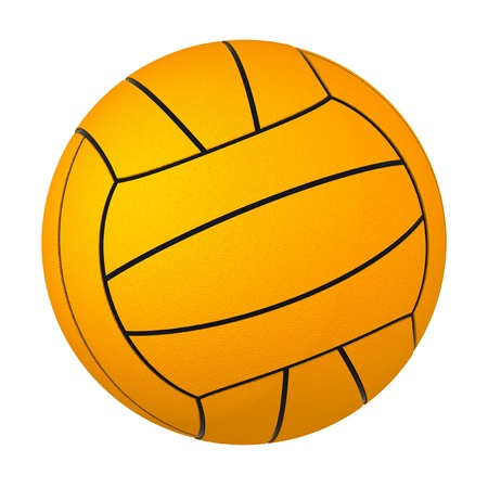 ball of water: Water Polo Ball Stock Photo