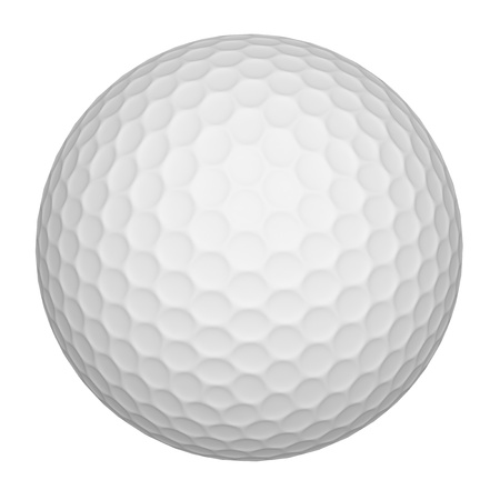 Golf Ball (white) Stock Photo - 9410492