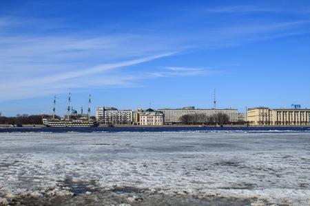Drifting on the Neva River