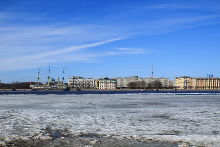 Drifting on the Neva River