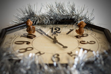 waited: Hours with monkeys are waited waiting for new year Stock Photo