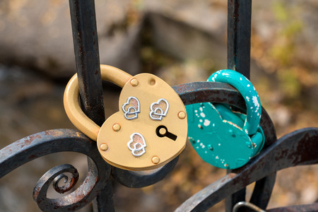 belokurikha: The iron lock for lovers on a protection