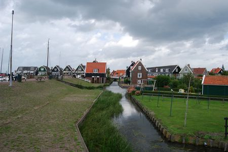 marken: Canal in Marken city