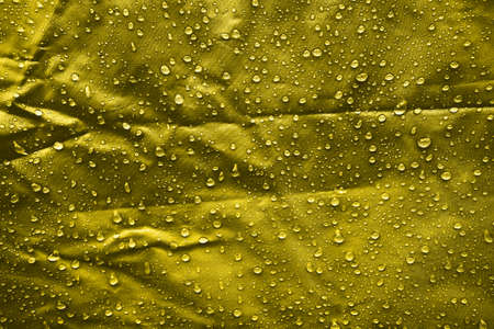 Water drops on the fabric Imagens