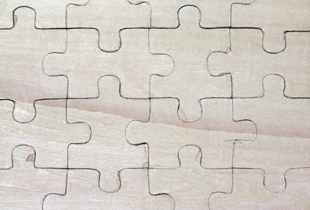 wooden puzzles. background