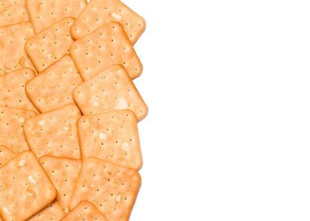 fresh homemade cookies on a light background Banco de Imagens