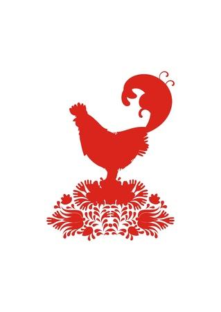 rangers: chicken Rangers Illustration