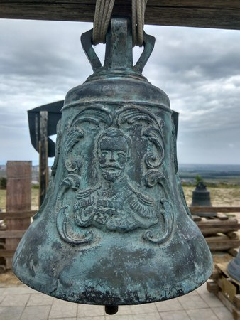 The antique bell of an old Russian temple