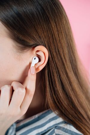 Air Pods with Wireless Charging Case.