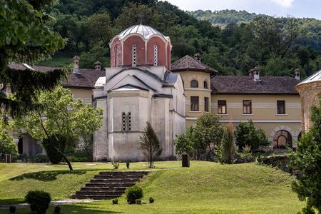 12th century: Studenica monastery, 12th-century Serbian orthodox monastery located near city of Kraljevo
