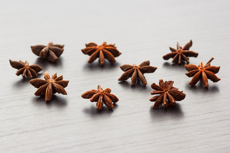 stellate: star anise, the Indian anise, stellate anise, the Siberian anise