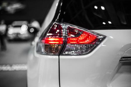 Rear stop light of moder crossover car