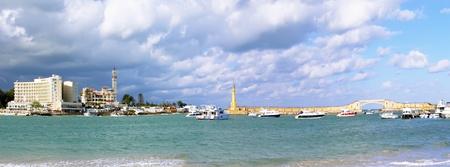 alexandria egypt: Alexandria, seafront view . Egypt